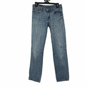 Lucky Brand 2 Destroyed Sweet & Low Straight Jeans